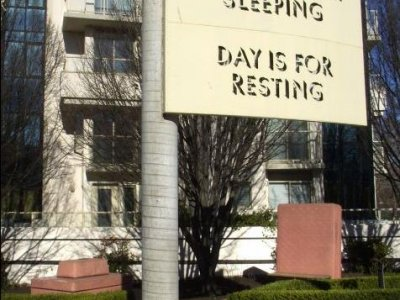 Mowry Baden, Night is for Sleeping, Day is for Resting, 1997